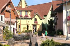 "Population: 4,898 The Michigan town, nicknamed is ""Little Bavaria,"" boasts the world's largest Christmas store."