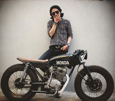 Honda cafe racer                                                                                                                                                     More