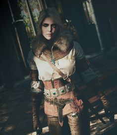 The Witcher 3_The Wild Hunt Ciri Princess of Cintra