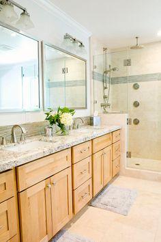 Good Colors For A Bathroom Light Oak Cabinetshoney