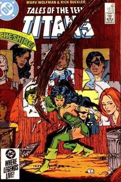 Tales of the Teen Titans #52 - Jericho's Story