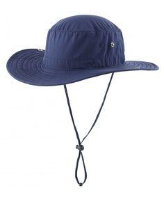 c9af1942bcd3c Outdoor Cowboy Sun Hat Wide Brim Bucket Fishing Hats Summer String Hat Nave  Blue CC12HL4F1PX