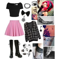 """""""My Outfit Today! -Sky"""" by toxic-raven on Polyvore"""