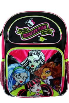 Monster High Skull Goth Ghoulfriends Large Backpack Monster High http://www.amazon.com/dp/B00BMLQL7W/ref=cm_sw_r_pi_dp_O-h5tb0J3215P