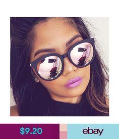 aff93839ed0 Sunglasses Women Cat Eye Round Mirror Shades Girl 2018 Fashion Sun Glasses  UV400
