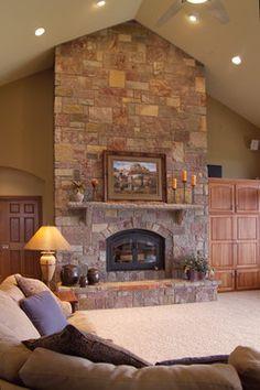 103 best stone fireplaces images dinner room fire places log burner rh pinterest com