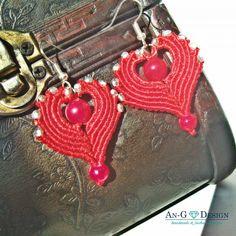 Gentle Heart Shaped Amor Earrings