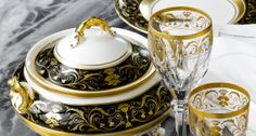 Tableware & Place Settings for Property, Yachts, Jets   Harlequin