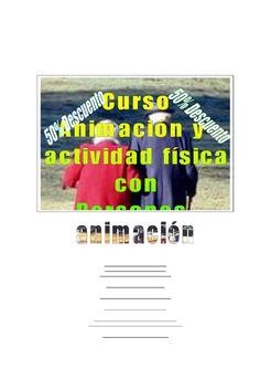 Curso a distancia ANIMACIÓN Y ACTIVIDAD FÍSICA CON PERSONAS MAYORES: