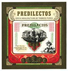 6th Day of Christmas! Download: Predilectos Cigar Label