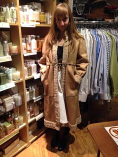 Baby its cold outside...time to bundle up with a coat from store B vintage!
