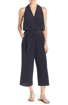 Tory Burch 'Campania' Silk Cover-Up Jumpsuit