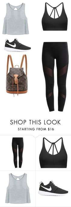 """💃"" by alishabbarton on Polyvore featuring even&odd and NIKE"
