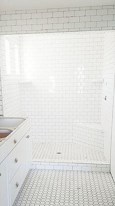 Whitelanedecor Master Bathroom White Bathroom Subway Tile