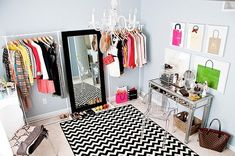 Real-Life Inspiration: Converting a Bedroom Into a Dressing Room