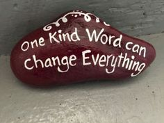 Best painted rock art ideas with quotes you can do (18)