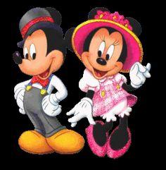 Mickey & Minnie Glitter Graphics | Glitter Graphics » Cartoons » mickey & minnie