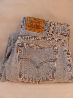 Vintage 1980s Levi's 545 Jeans Loose Fit Signature Series Men's 38 x 30