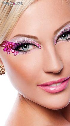Pretty Pink Halloween Makeup