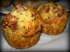 Easy Breakfast Muffins, Healthy Muffins, Cupcake Recipes, Baby Food Recipes, Cookie Recipes, Finger Food Appetizers, Appetizer Recipes, Good Food, Yummy Food
