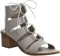 Womens light grey heels from Office Shoes - £62 at ClothingByColour.com