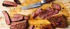 Recipe: Beer-Marinated Rump Steak, Joe Carroll, Feeding the Fire