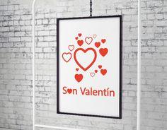 escaparates decorados con vinilos adhesivos para san valentín, pegatinas para san valentin, comprar vinilos de san valentin