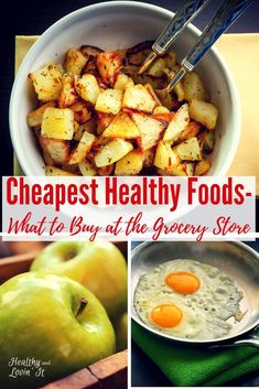 Cheap Clean Eating Grocery List-Free Printable! #realfood #moneytips #healthyeating