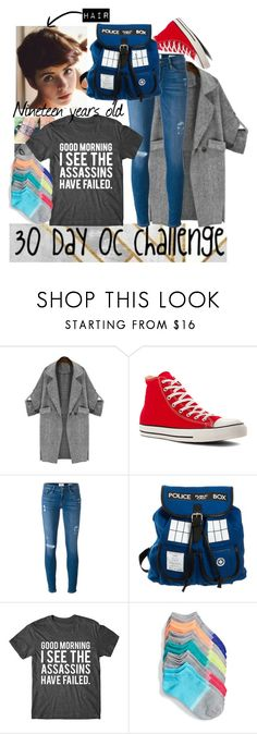 """30 Day OC challenge: Day twenty-four"" by wibbly-wobbly-timey-wimey-dork on Polyvore featuring Converse, Frame and Sof Sole"