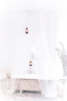 Cute little tube with lace covering Pretty Bedroom, Dream Bedroom, Cottage Style Furniture, Cream Decor, Small Cottage Homes, Woman Bedroom, Satin Roses, Shabby Chic Homes, Bedroom Inspo