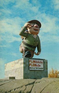 Flintabbatey Flonatin, Legendary Adventurer, Flin Flon, Manitoba   Flickr - Photo Sharing!