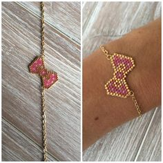 Sieh dir dieses Instagram-Foto von @brinou an • Gefällt 32 Mal Seed Bead Bracelets, Seed Bead Jewelry, Beaded Jewelry, Diy Jewelry, Handmade Jewelry, Jewelry Making, Jewellery, Little Girl Jewelry, Girls Jewelry