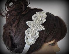 DIY+Wedding+Headband++DIY+weddings+diy+by+TheBrightShop+on+Etsy,+$7.00