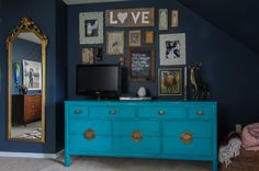 Eclectic Bedroom by Michaela Dodd