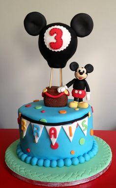 Mickey cake Sweetdonosti@blogspot.com.es