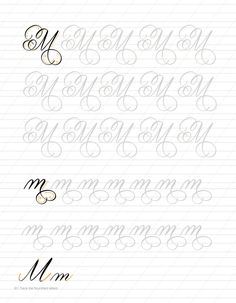 Flourishing: Incorporating Modern Flourishes into Your Lettering - Guide and Workbook