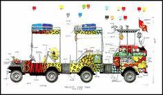 Mickey's Finale vehicle for Mickey's Jammin Jungle Parade at Disney's Animal Kingdom