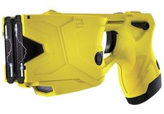 The TASER handheld electronic control device (ECD) features a second shot for instant-miss recovery, dual lasers for improved accuracy, an enhanced power magazine enabling more than 500 firings, and a warning arc to help keep conflicts from escalating. Radios, Body Armor Plates, Police Gear, Nanny Cam, Self Defense Weapons, Lethal Weapon, Tactical Equipment, Double Barrel, Home Protection