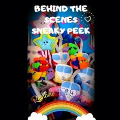 Felt Gifts, Scene Photo, Facebook Sign Up, Small Businesses, Behind The Scenes, Rainbow, Gift Ideas, Cute, Etsy