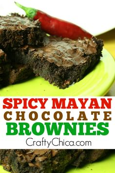 Spicy Mayan Brownies