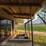 Wood Fire Hot Tub at Bergsicht Country Cottages, Western Cape Farm Town, Country Cottages, Weekends Away, Firewood, Pergola, Places To Visit, Outdoor Structures, Cape, Outdoor Decor