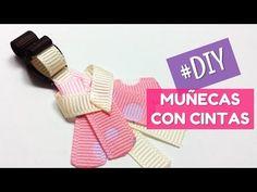 Origami Ribbon, Hair Bow Tutorial, Hair Bows, Headbands, Diy Baby, Videos, Satin Bows, Dolls Dolls, Ribbon Bows