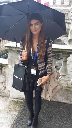 Street style at London Fashion Week SS14 #fashion #blogger #streetstyle #boohoo #SS14 #LFW