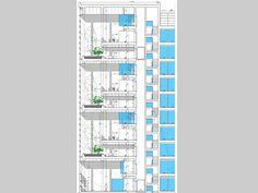 Residenze Universitarie viale Isonzo - Residenza Universitaria Isonzo - nuova costruzione civ 21 e risanamento conservativo civ 23 - milano che cambia - Ordine degli architetti, P.P.C della provincia di Milano