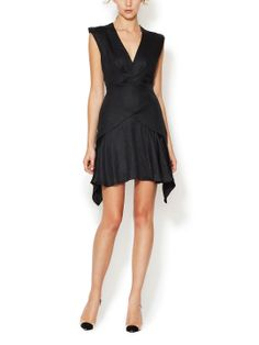 Washed Satin A-Line Dress by Faith Connexion at Gilt