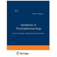 Handbook of Psychopharmacology: Volume 13 Biology of Mood and Antianxiety Drugs