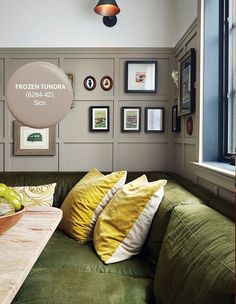 Frozen Tundra | Photographer: Donna Griffith | Designer: Philippe Beauparlant Best Paint Colors, Paint Colors For Home, Wall Colors, House Colors, Paint Colours, Sico, Top Paintings, Warm And Cool Colors, Home Trends