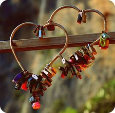 """Hearts """"locked"""" together!"""