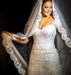 Vestido de noiva sereia Carol Hungria – Empório Lulu