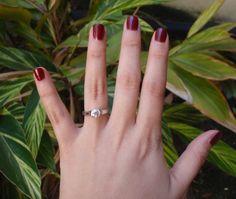 sholdt rings | ... Proposal Complete with Sholdt Half-Bezel Engagement Ring | PriceScope